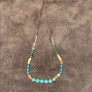Jjill blue multi necklace